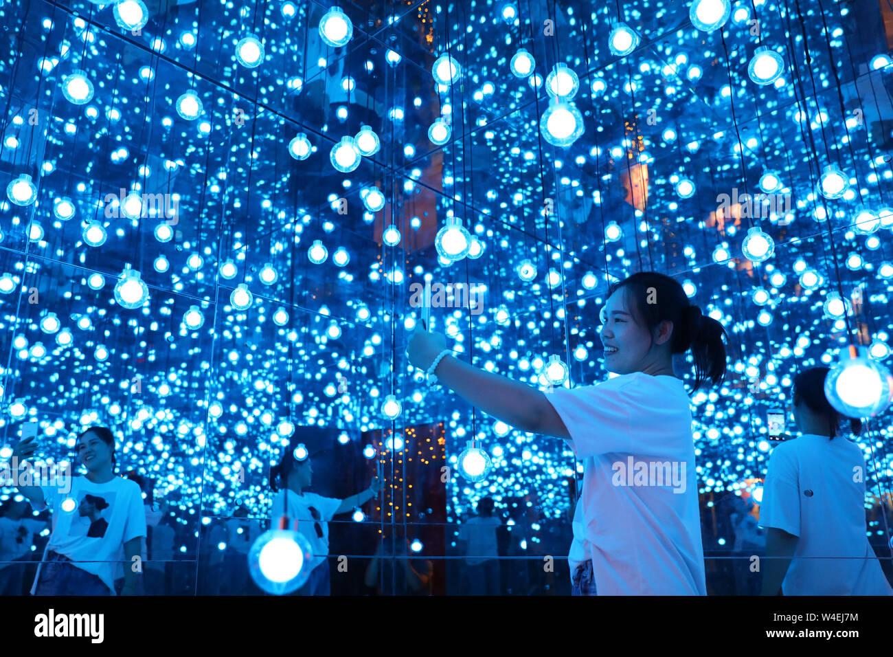 Anhui, Anhui, China  23rd July, 2019  Anhui, CHINA-Visitors