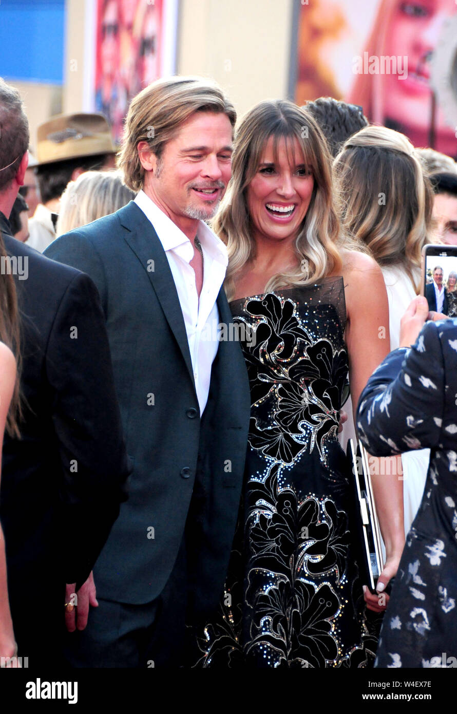 Hollywood, California, USA 22nd July 2019 Actor Brad Pitt attends Sony Pictures Presents the World Premiere of 'Once Upon A Time...In Hollywood' on July 22, 2019 at TCL Chinese Theatre in Hollywood, California, USA. Photo by Barry King/Alamy Live News Stock Photo