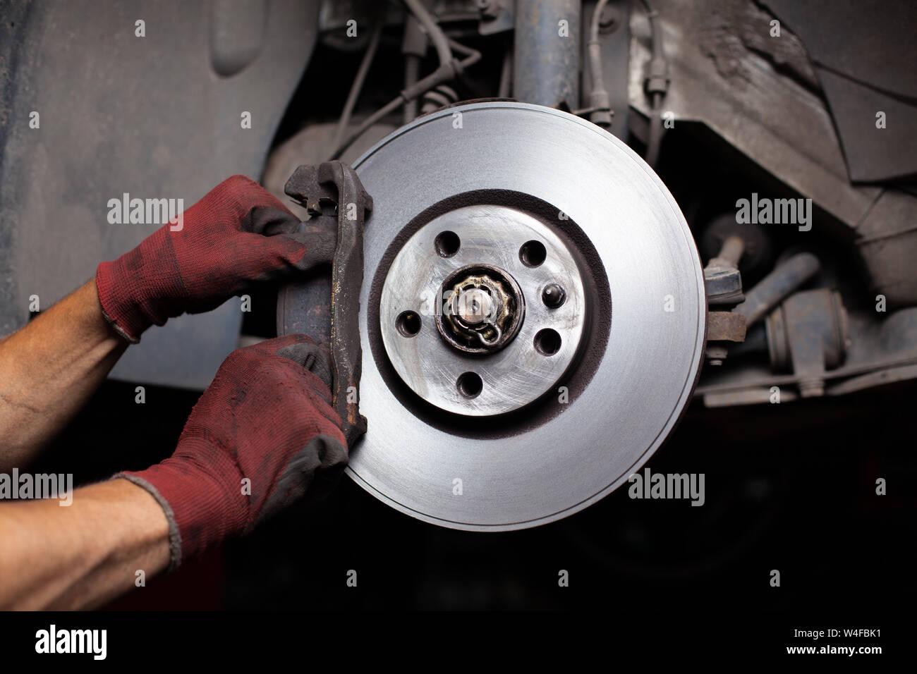 Brake Job Stock Photos & Brake Job Stock Images - Alamy