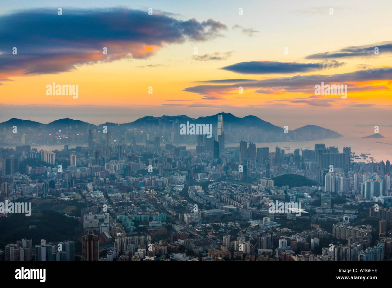 Kowloon, Hong Kong, China Stock Photo