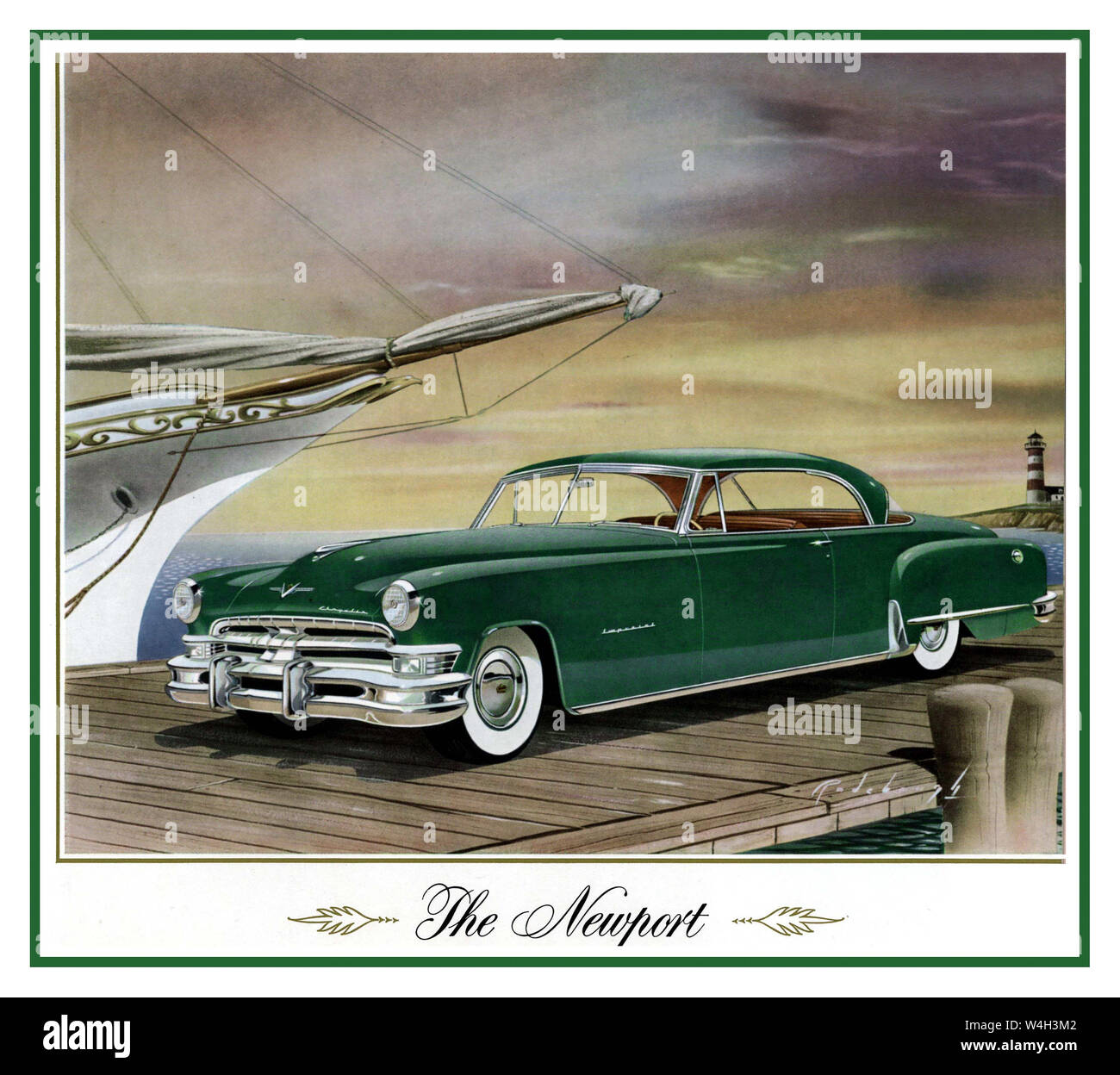 1957 DODGE SWEPT WING ROYAL LANCER 2 DOOR A3 POSTER AD  ADVERTISEMENT BROCHURE