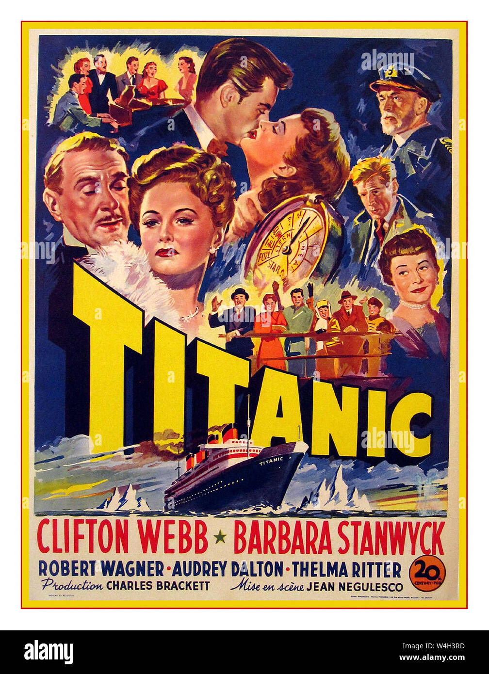 Titanic Poster High Resolution Stock Photography And Images Alamy
