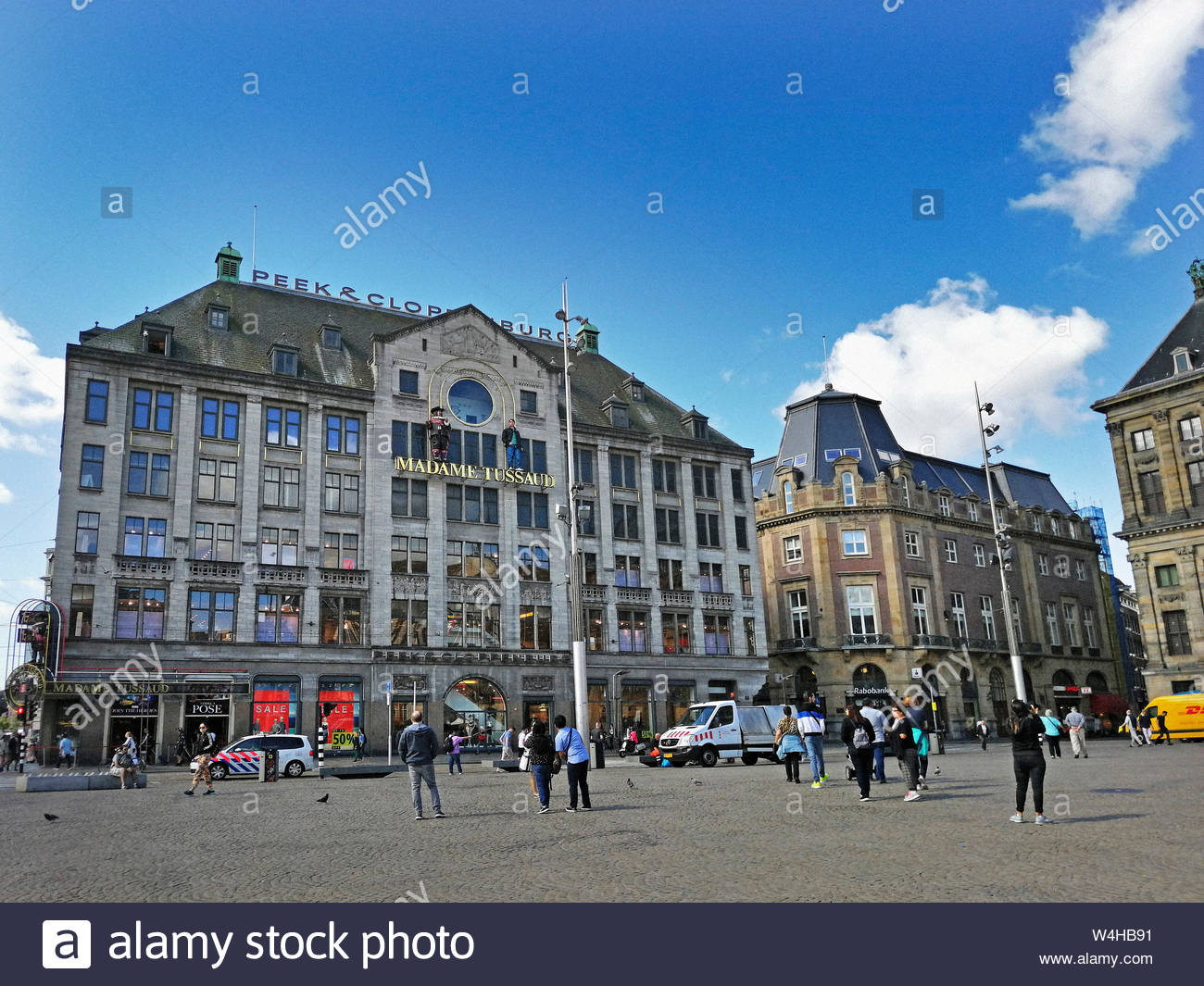 Netherlands, Holland, Amsterdam, madame tussauds Stock Photo