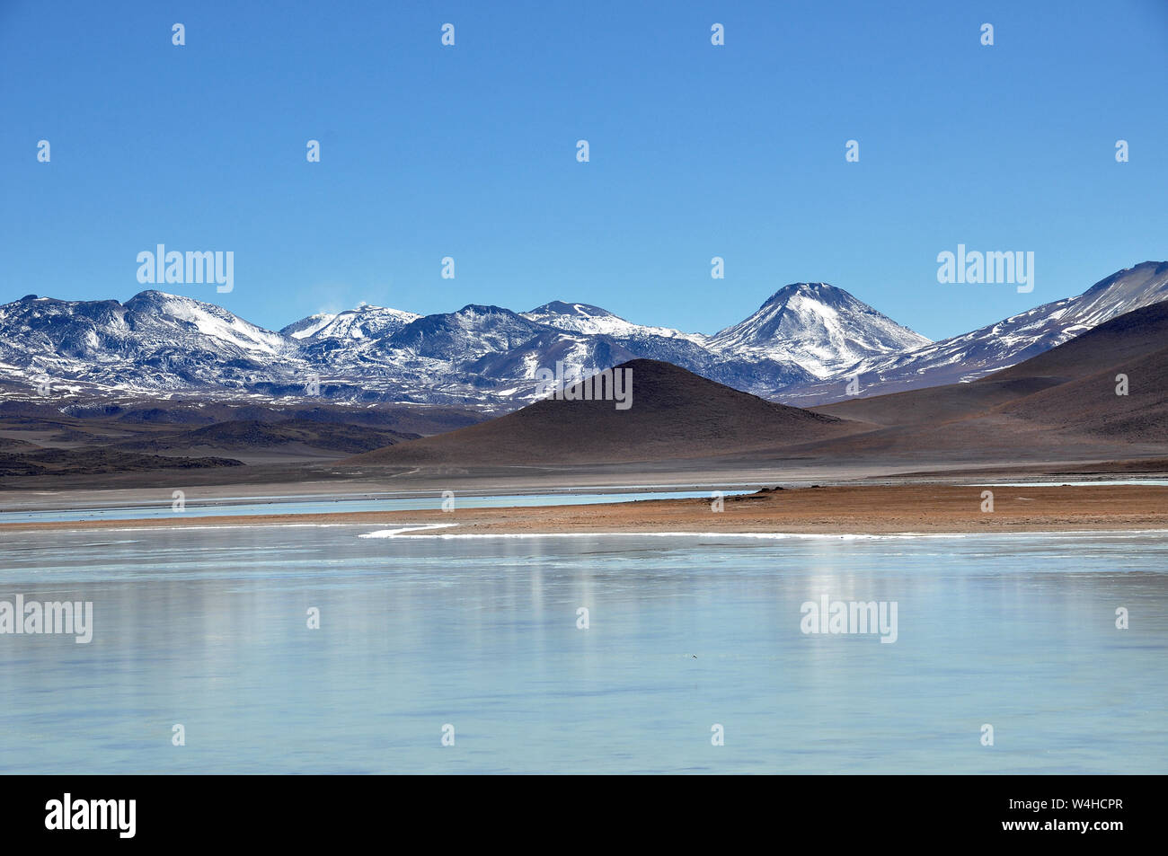 Bolivian Lagunas In The Andes Mountains Region Over 4000 Meters Above Sealevel Stock Photo Alamy