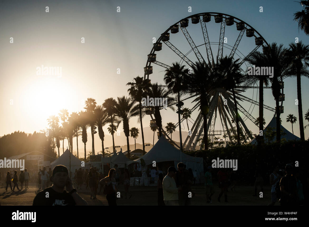 Coachella Ferris Wheel High Resolution Stock Photography And Images Alamy