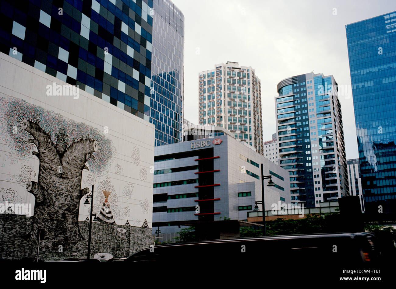 Bonifacio Global City Stock Photos & Bonifacio Global City Stock