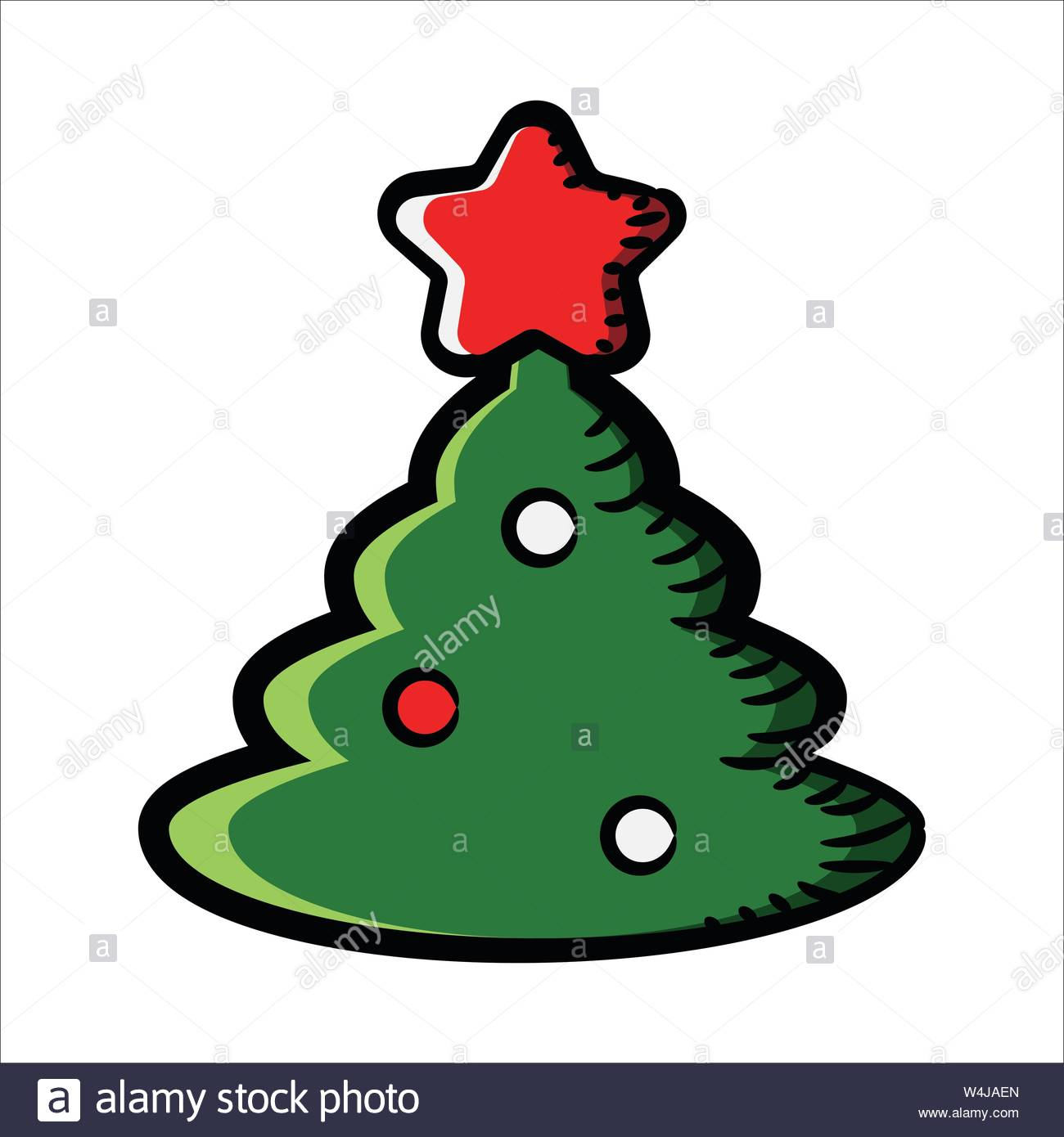 Christmas New Year S Green Fir Tree With A Red Star The Icon In Cartoon Style Vector Illustration Stock Vector Image Art Alamy Papa bear and the cubs search the woods for the perfect christmas tree, but run afoul of the woodland animals who live in the audra lee and josh jarboe are your hosts for an hour of classic christmas cartoons. https www alamy com christmas new year s green fir tree with a red star the icon in cartoon style vector illustration image261017533 html