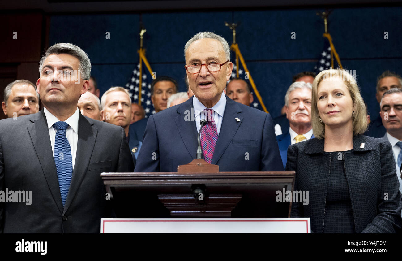 Washington, DC, USA  23rd July, 2019  U S  Senator CHUCK