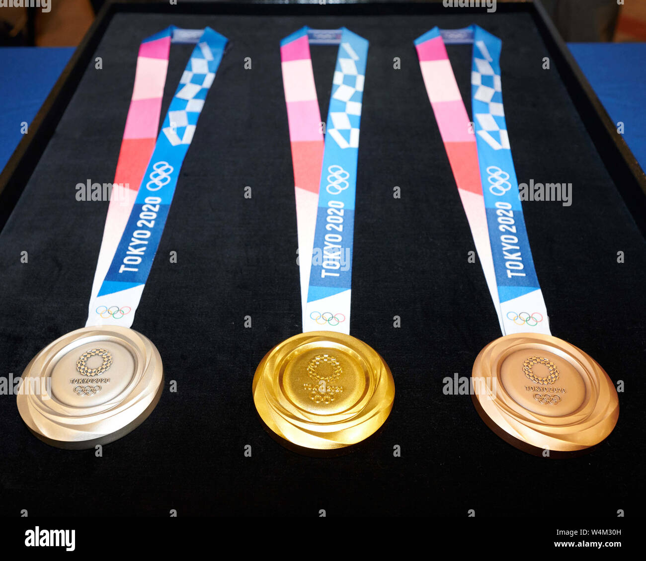 February 2020 Games With Gold.Tokyo Japan 24th July 2019 Medals February 9 2019