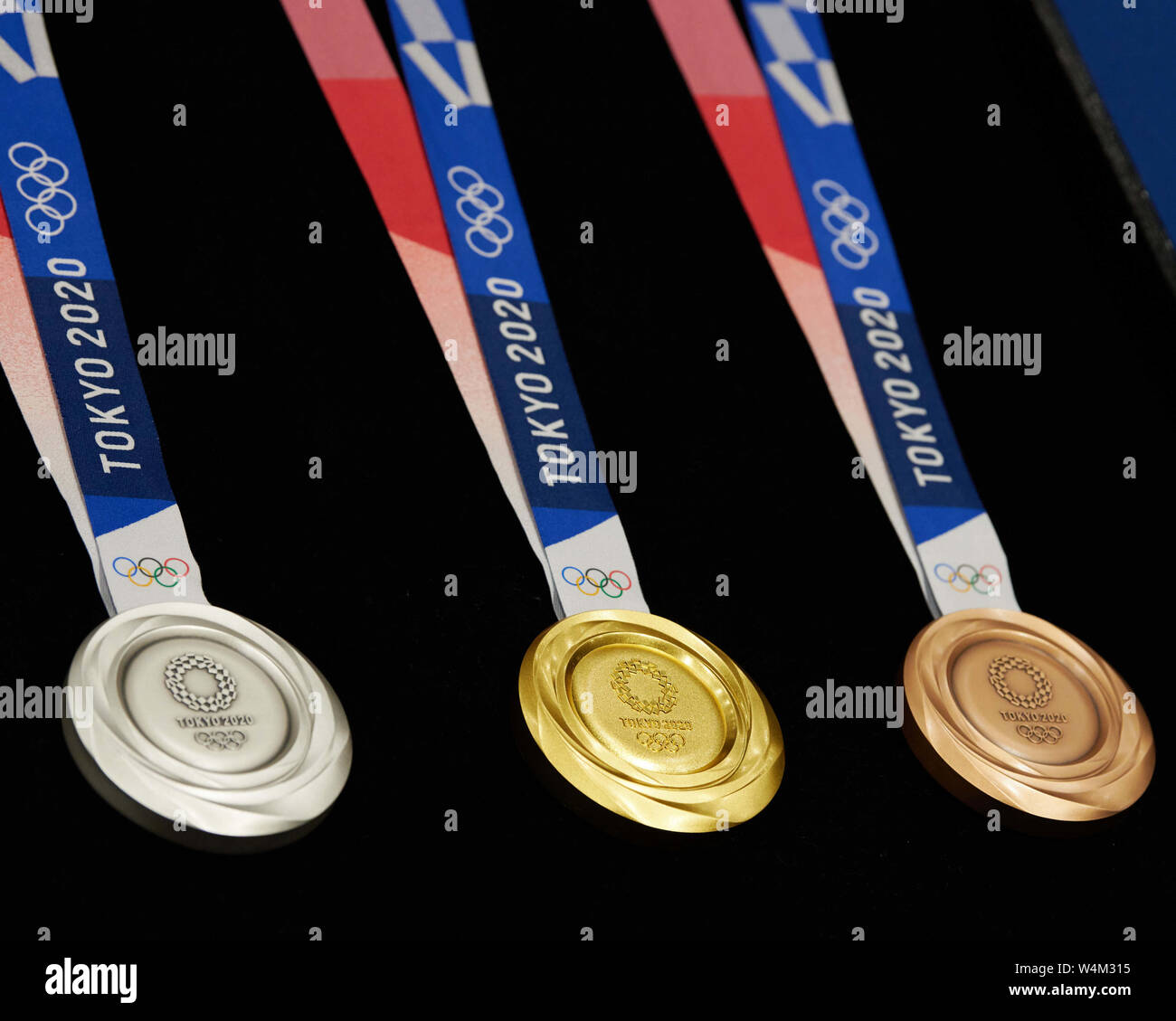 February Games With Gold 2020.Tokyo Japan 24th July 2019 Medals February 9 2019