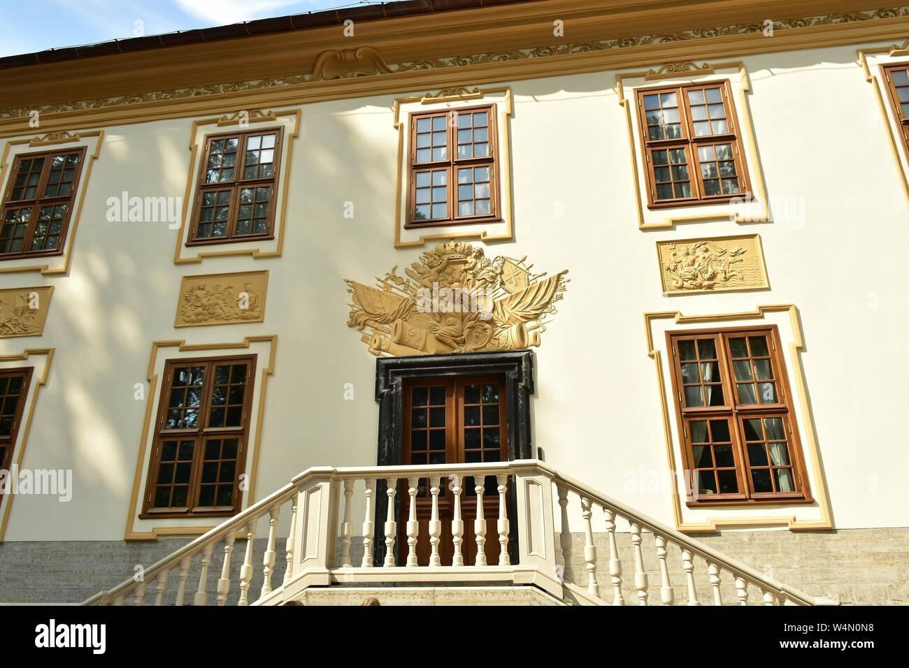 Summer Garden Palace XVIII century architecture Stock Photo