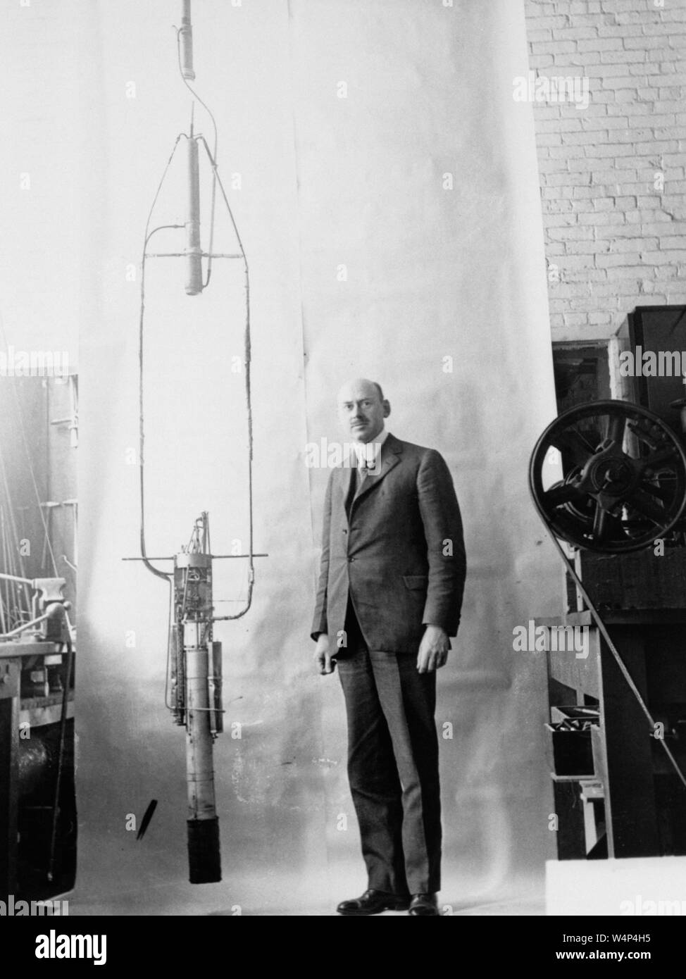 Robert Goddard Rocket Stock Photos & Robert Goddard Rocket