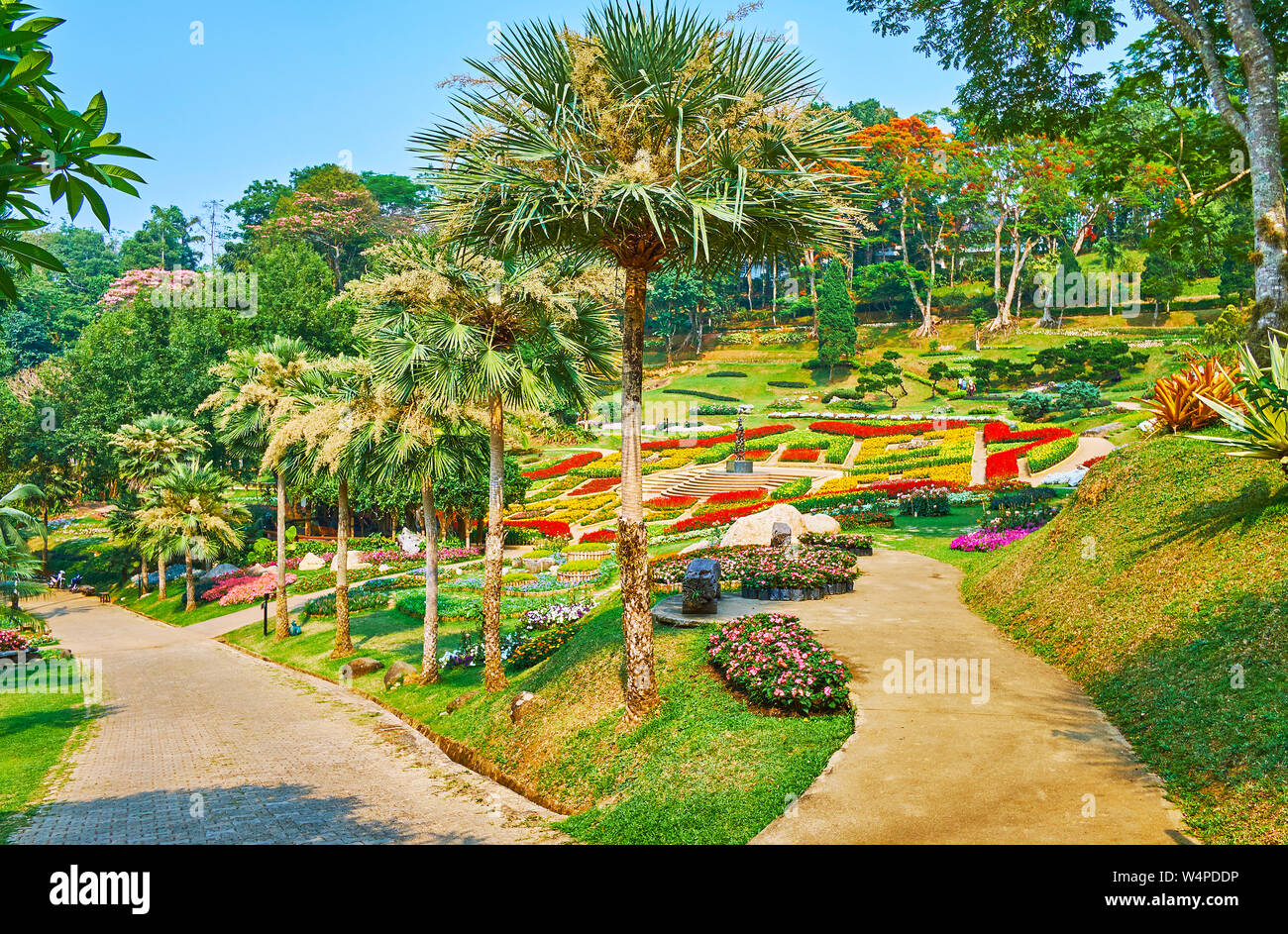 Mae Fah Luang Garden Is Best Place To Enjoy Perfect Landscaping