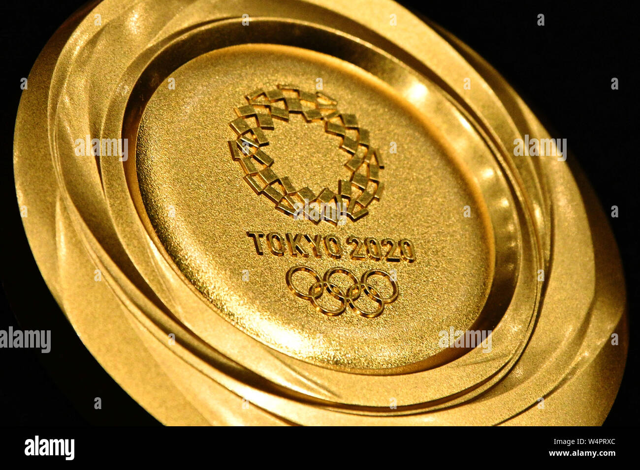 Games For Gold July 2020.Tokyo Japan 24th July 2019 Gold Medal February 9 2019