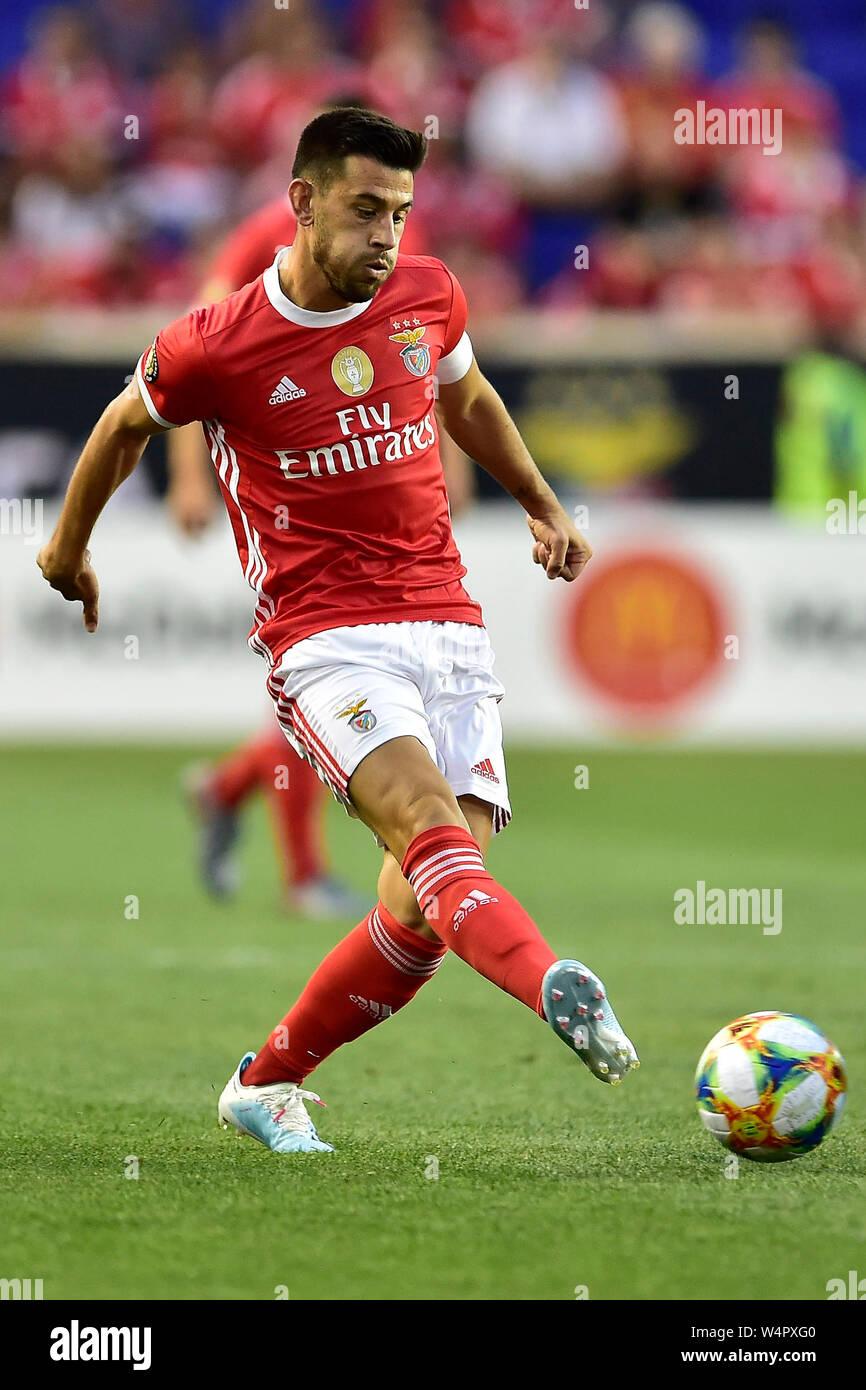 premium selection ec46b 9a7ea July 24, 2019, Harrison, New Jersey, USA: SL Benfica ...