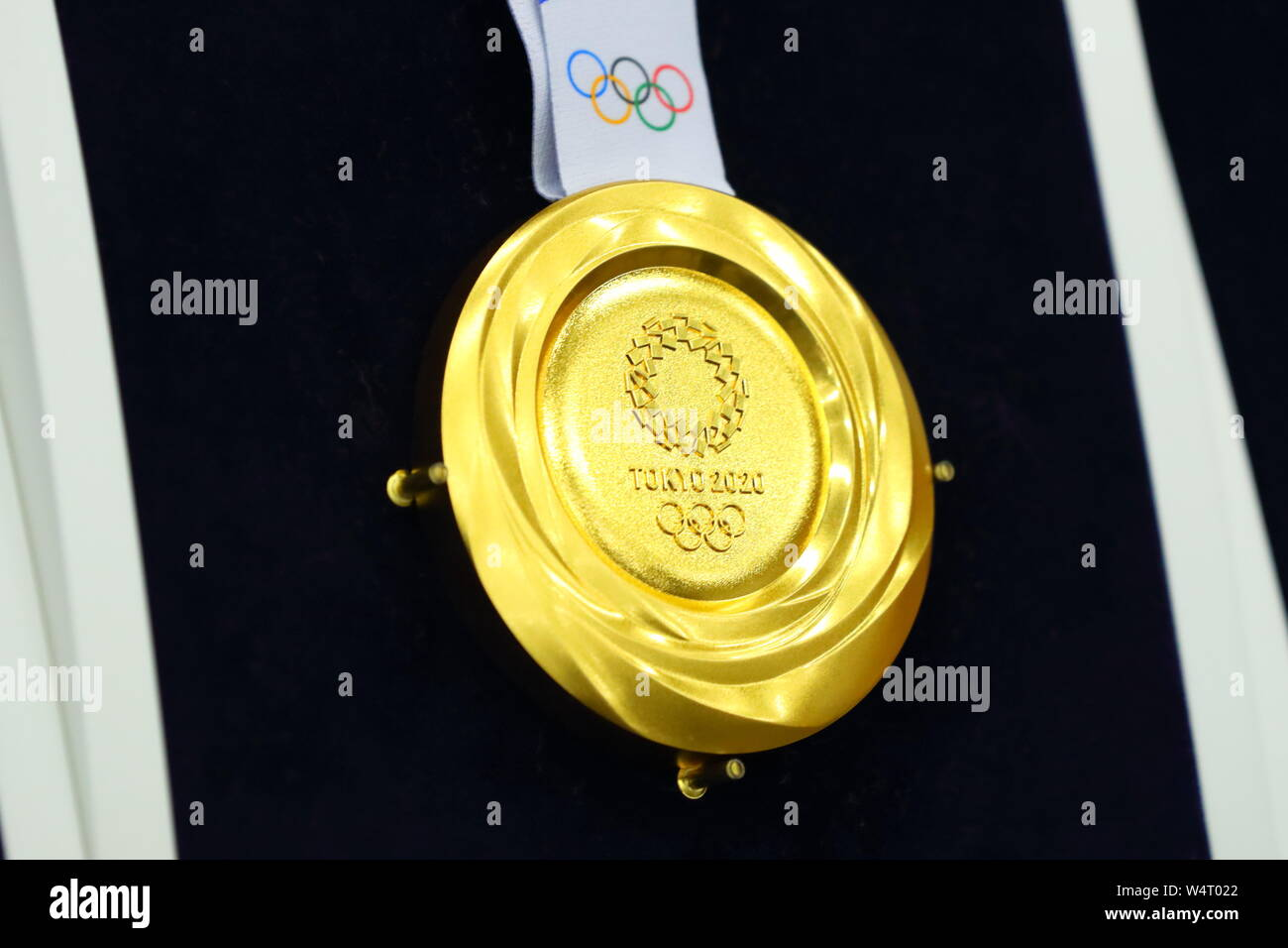 Games For Gold July 2020.Gold Medal July 25 2019 The Tokyo Organizing Committee