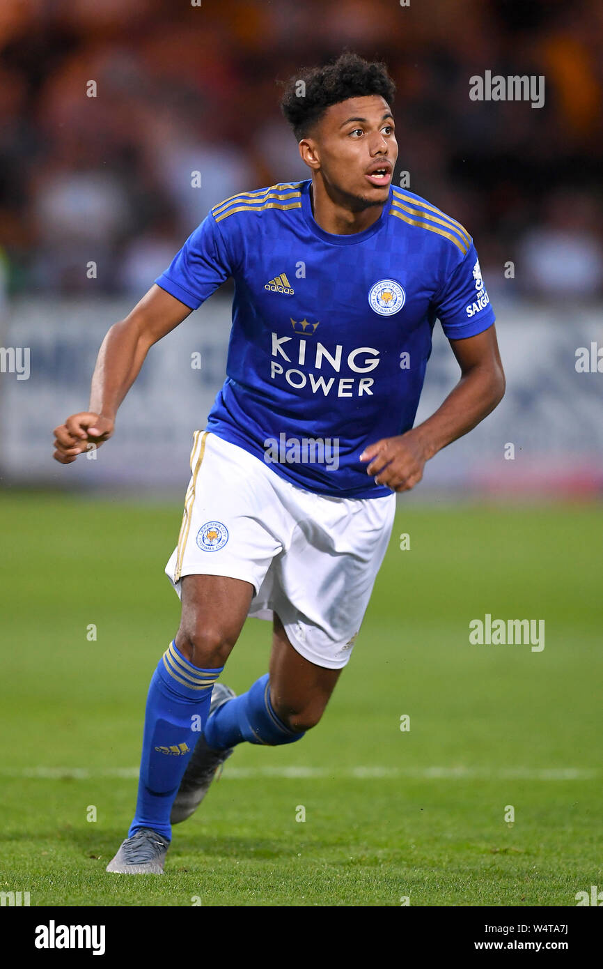 James Justin Leicester City Stock Photo Alamy