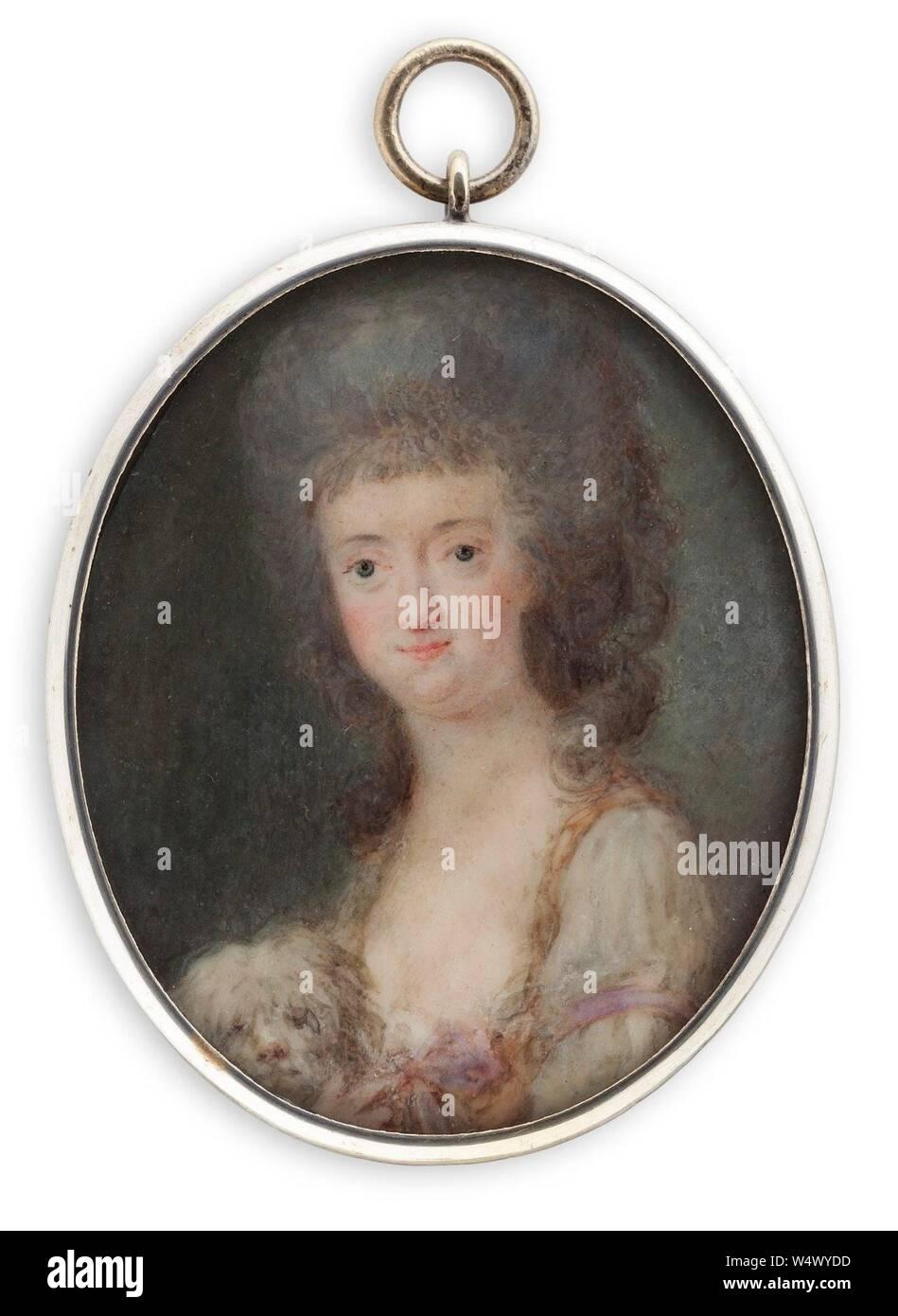 Cornelius Höyer - Princess Sofia Albertina Stock Photo