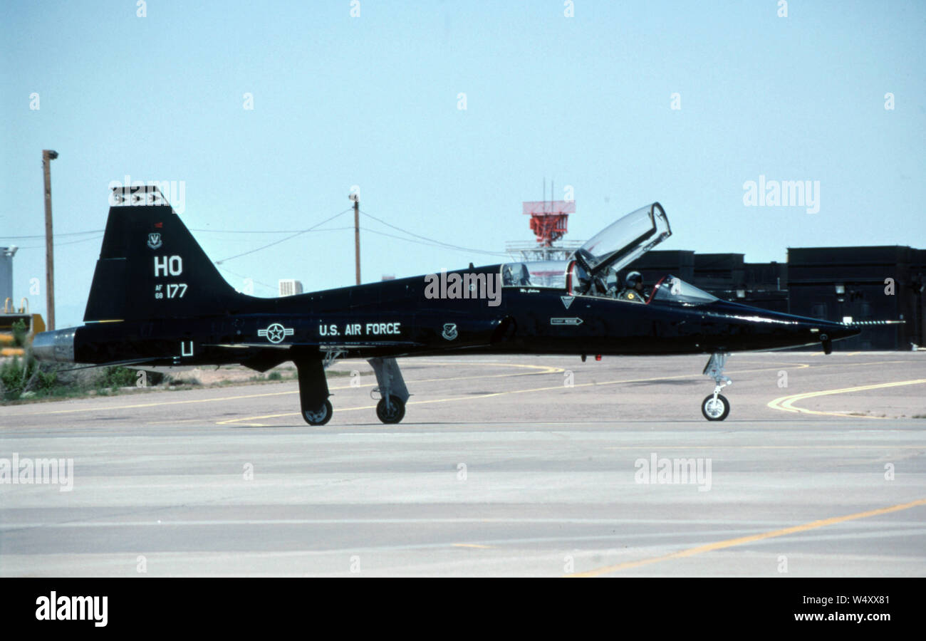 USAF United States Air Force Northrop T-38A Talon Stock Photo