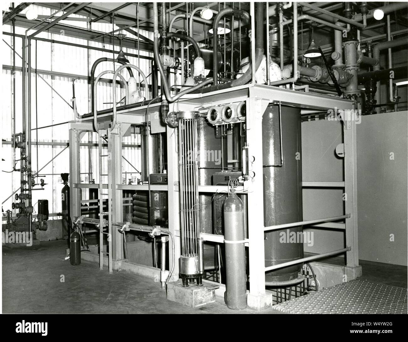 Cryogenics 018. Stock Photo