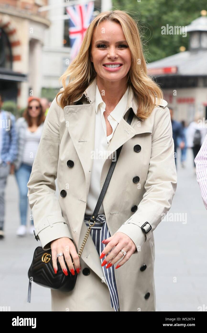 Amanda Holden Tape trench stock photos & trench stock images - page 6 - alamy