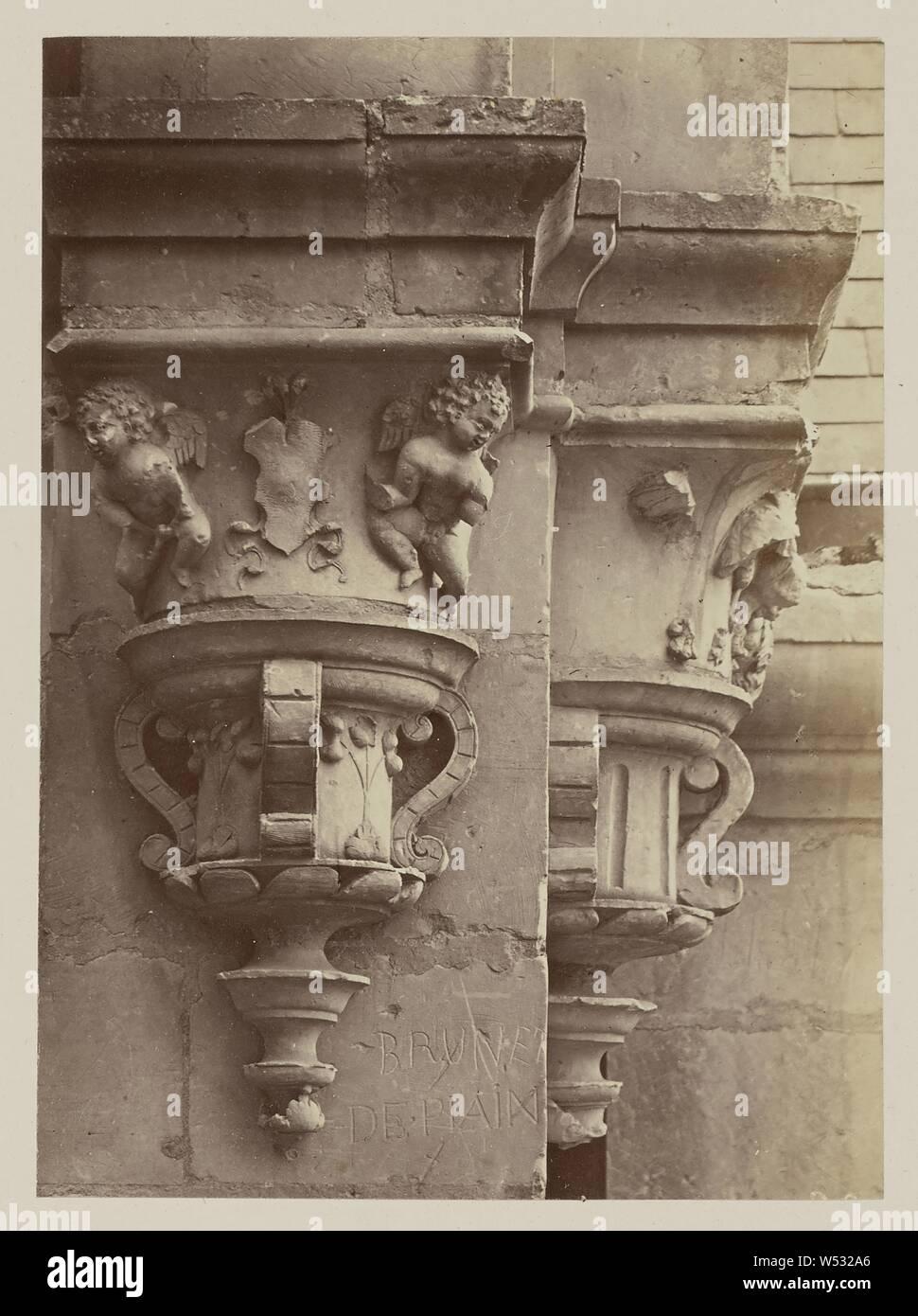Architecte Interieur Paris 18 château de chambord: niches et culots, intérieur de la