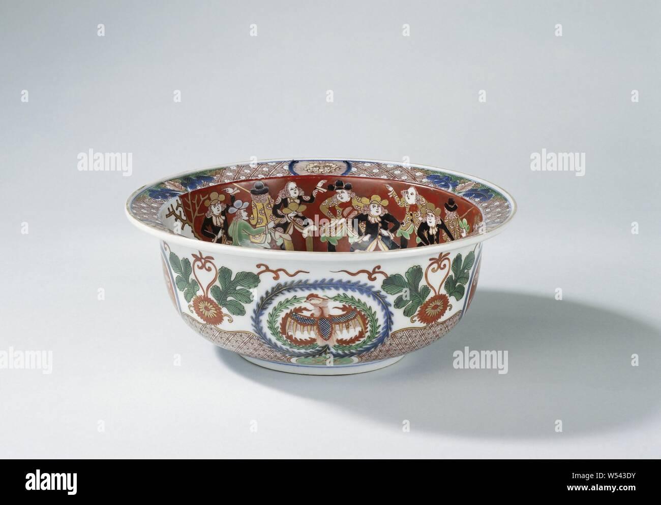 Set of 3 White Enamel Mixing Bowls Set Vintage Retro French Logo Styled Pots New