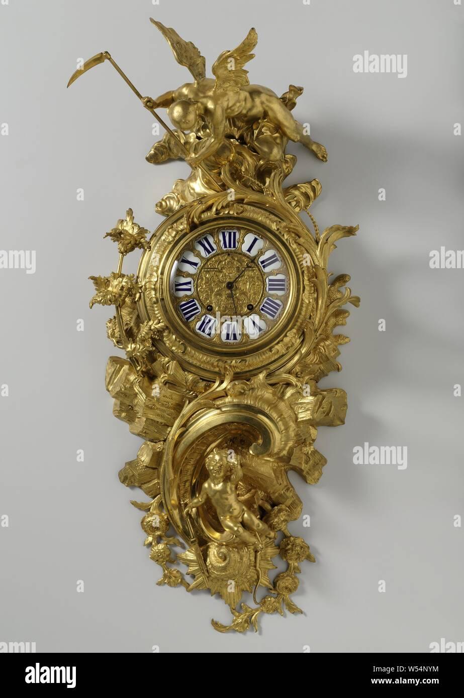 Man With Pendulum Clock Stock Photos & Man With Pendulum