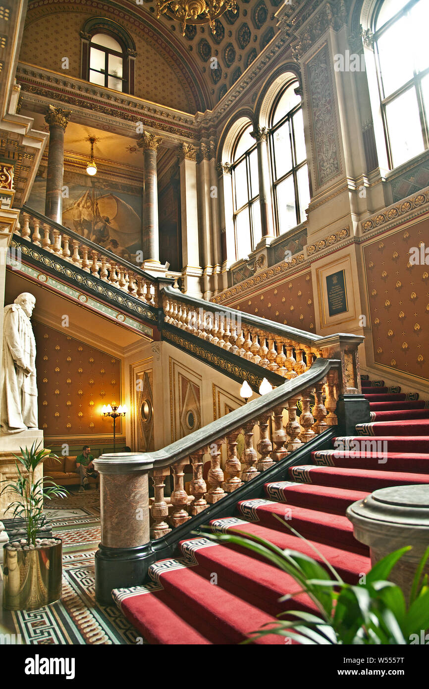 Grand Staircase, Foreign Office, London Stock Photo