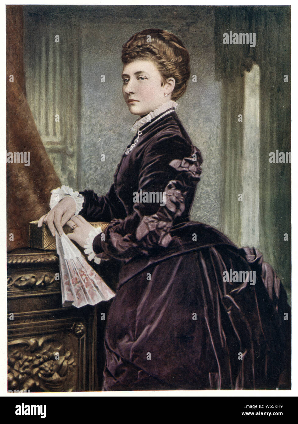 Princess Louise, Duchess of Argyll the sixth child and fourth daughter of Queen Victoria and Prince Albert. In her public life, she was a strong proponent of the arts and higher education and of the feminist cause. Stock Photo