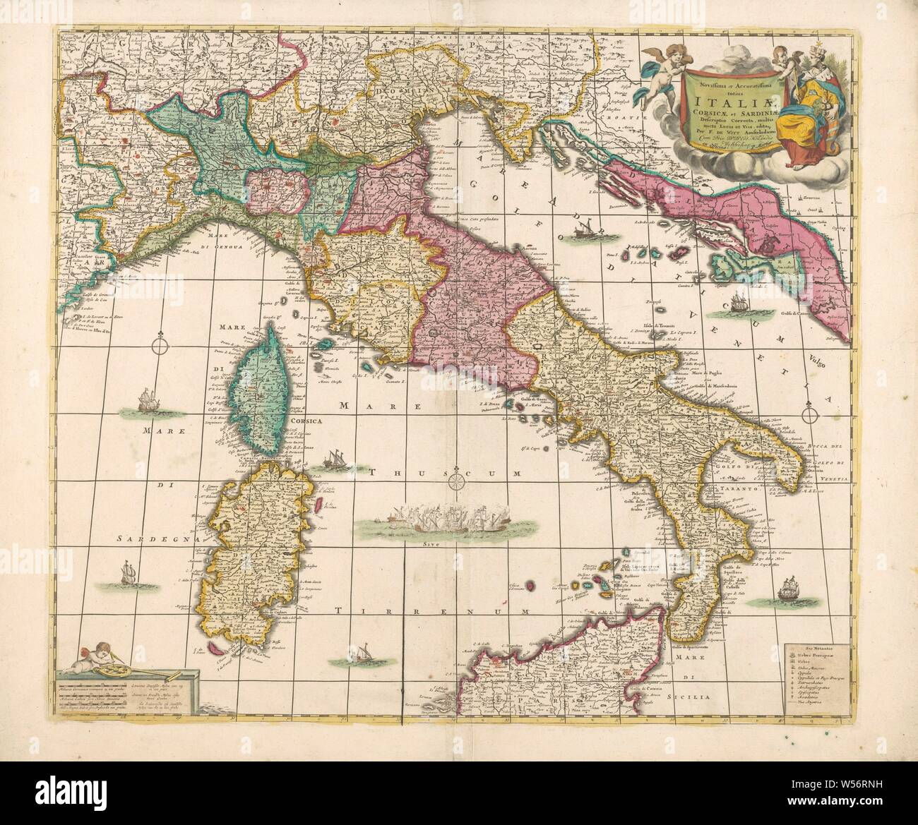 Areas Of Italy Map.Italy Map Stock Photos Italy Map Stock Images Alamy