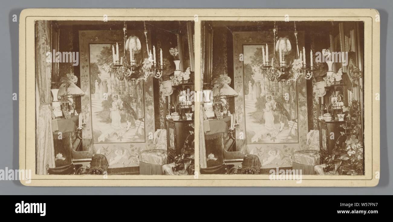 1900 foto di profilo House montagne bianche Franconia intaglio