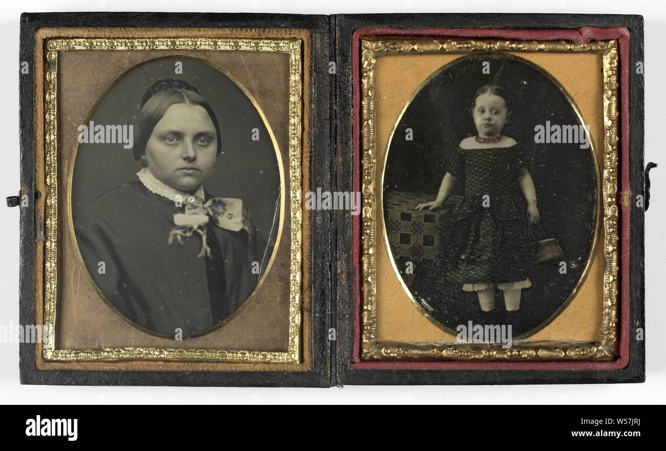 Portrait of an unknown girl, historical persons, girl (child
