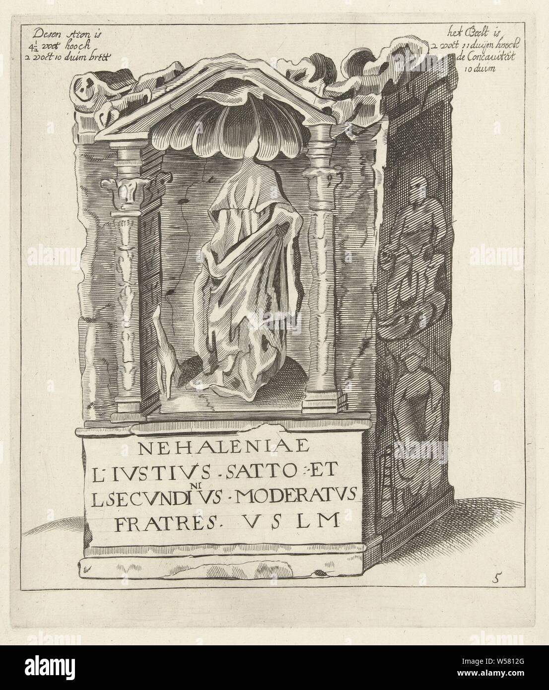 Roman Goddess Nehalennia Stock Photos & Roman Goddess