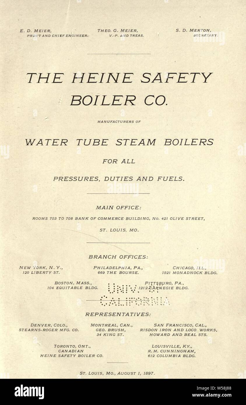 Water Tube Steam Boilers Stock Photos & Water Tube Steam