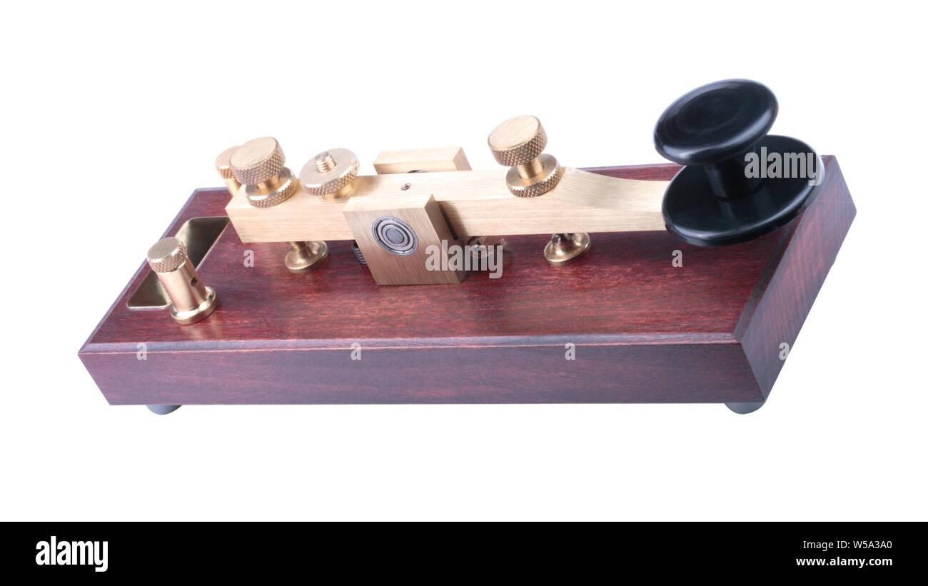 Key Morse Code Straight Key Stock Photos & Key Morse Code