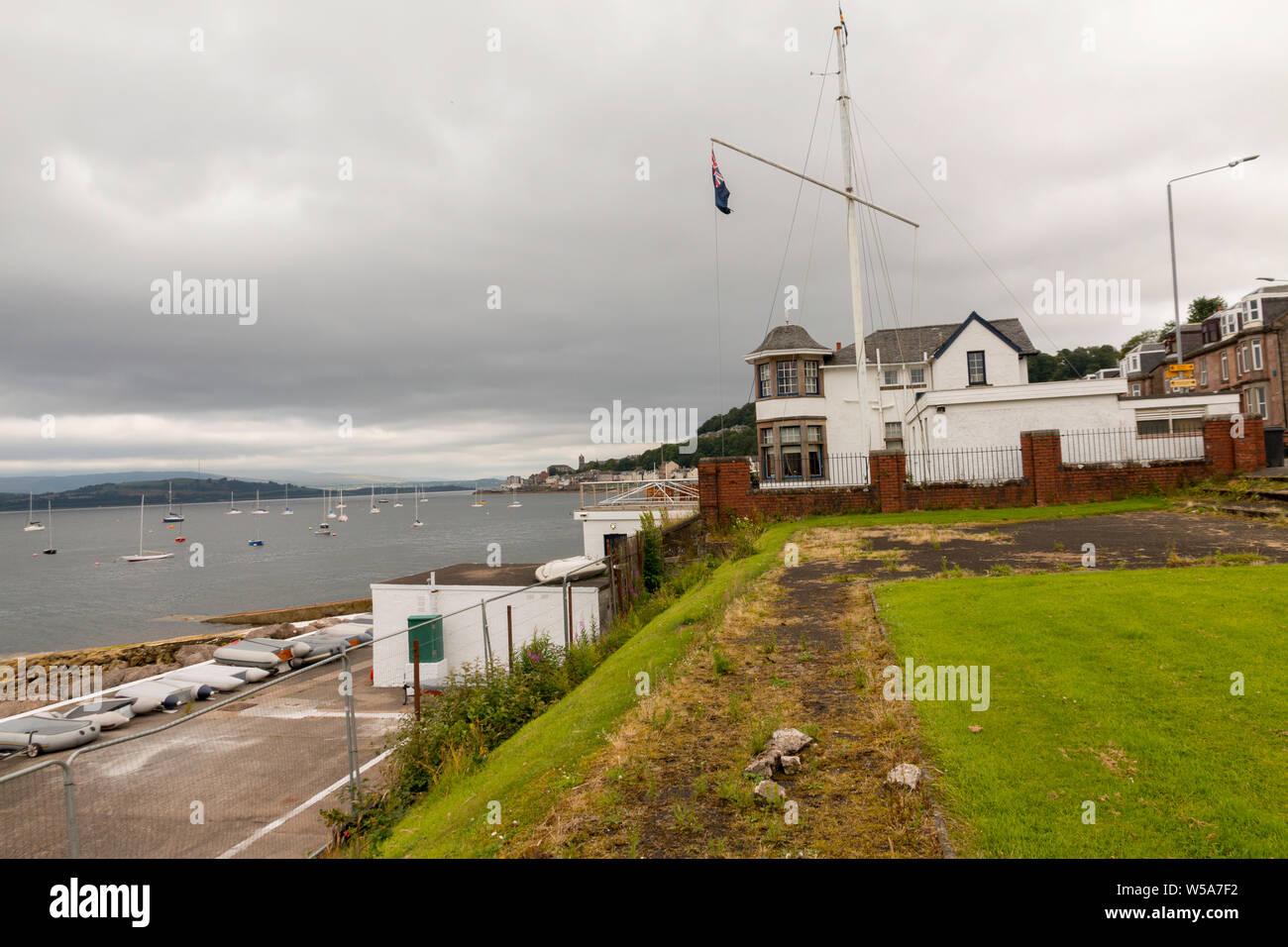 Gourock to Inverkip Coastline West of Scotland July 2019 Stock Photo