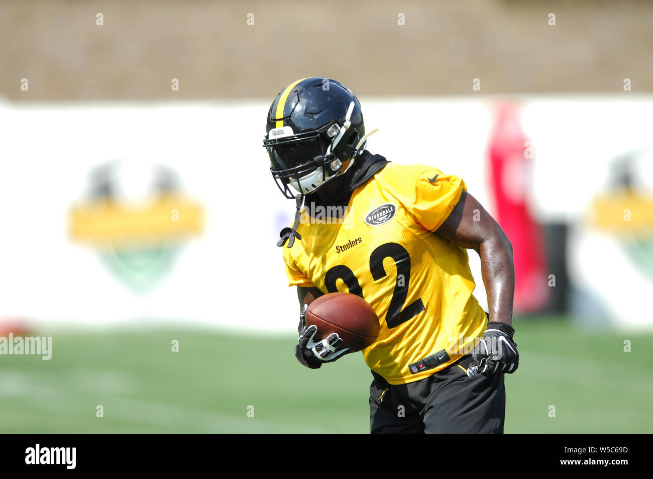 quite nice 46d75 2ca6d Latrobe, PA, USA. 27th July, 2019. Steelers #92 Olasunkanmi ...