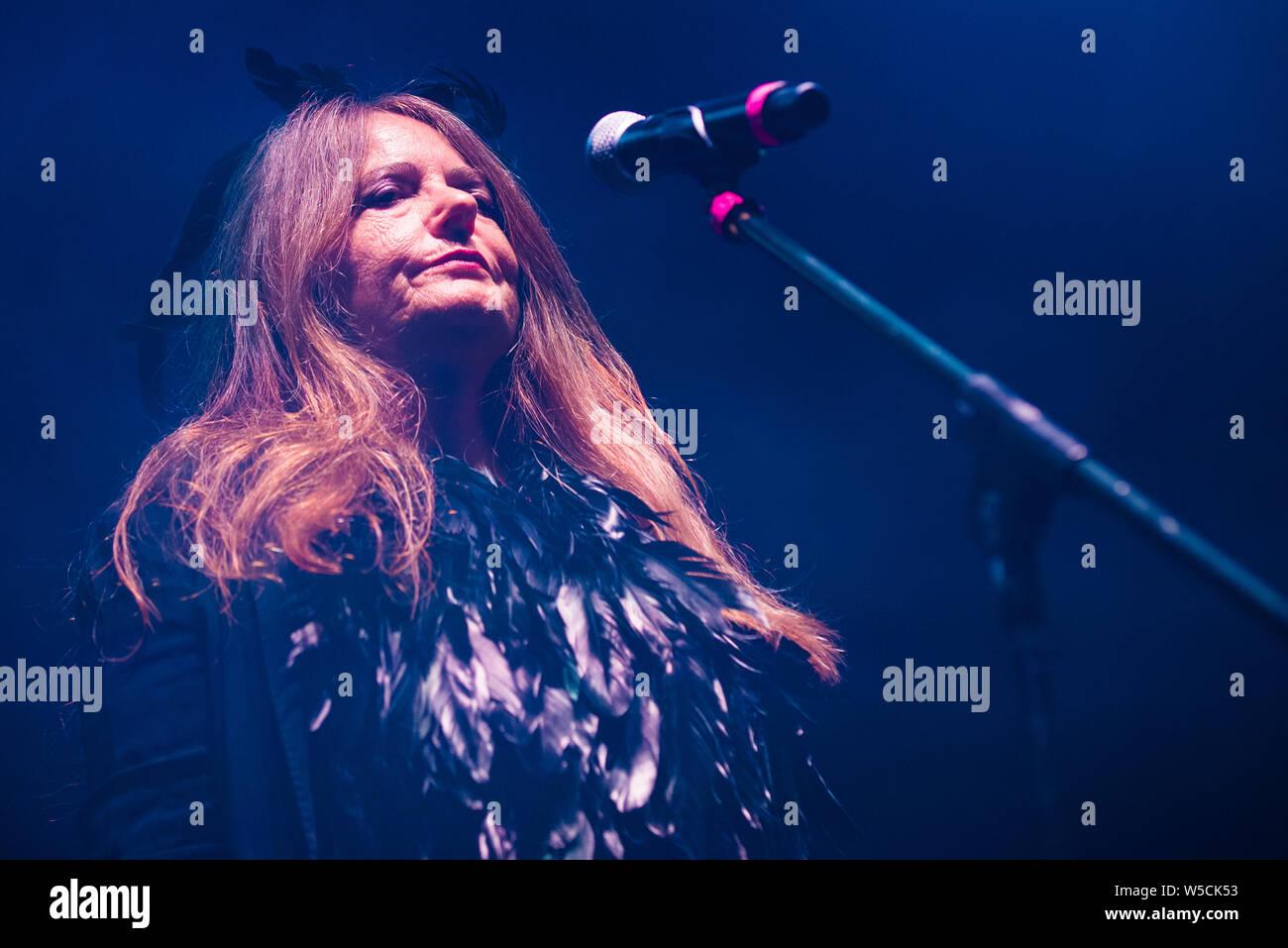 Nada performed in Treviso last 24.7.2019 Stock Photo