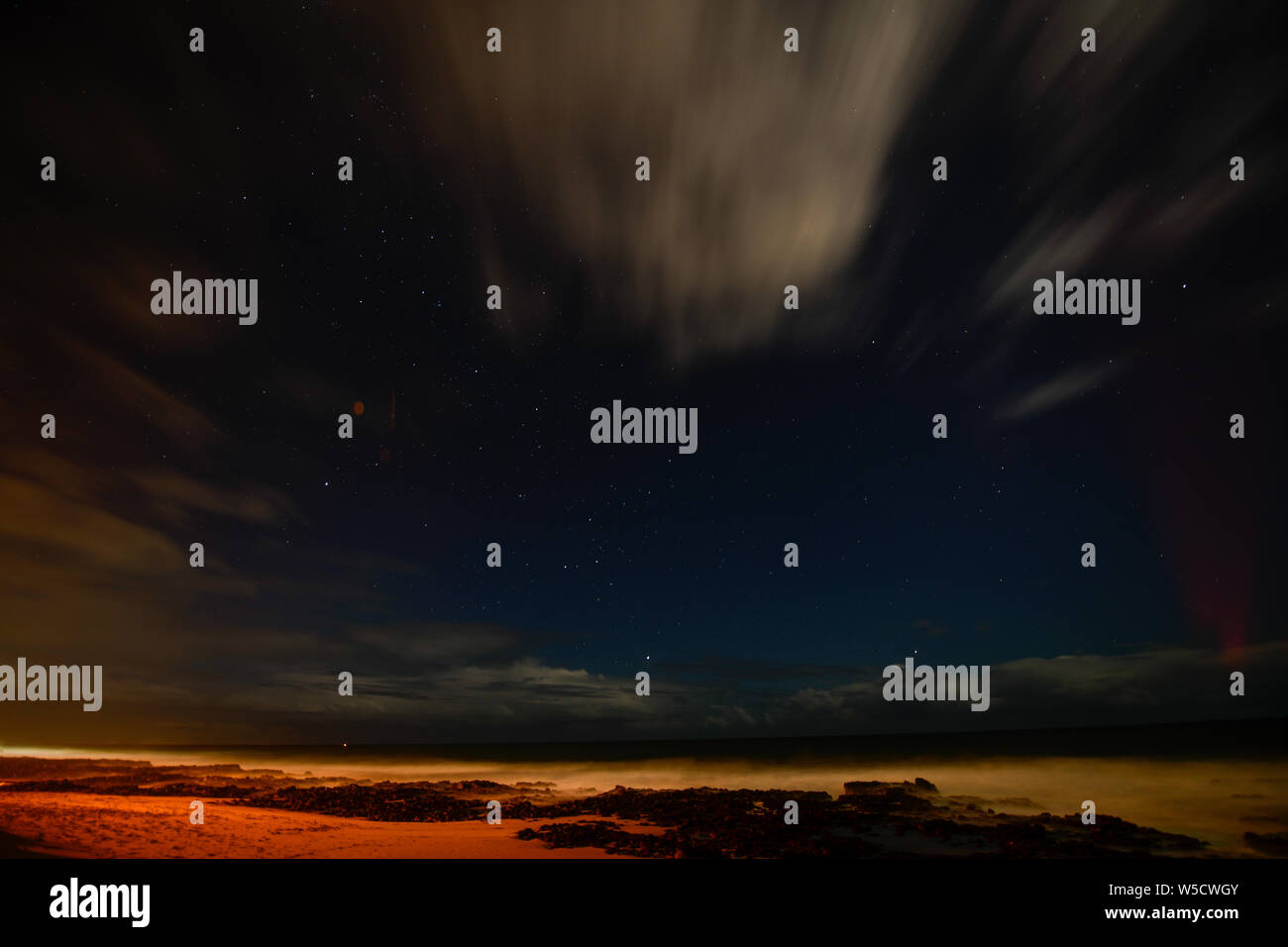 Bunbury Beach Western Australia Stock Photo