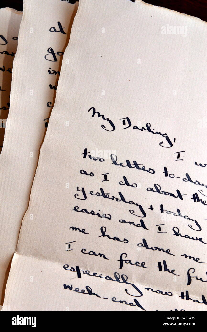 Sample Love Letter To My Husband from c8.alamy.com