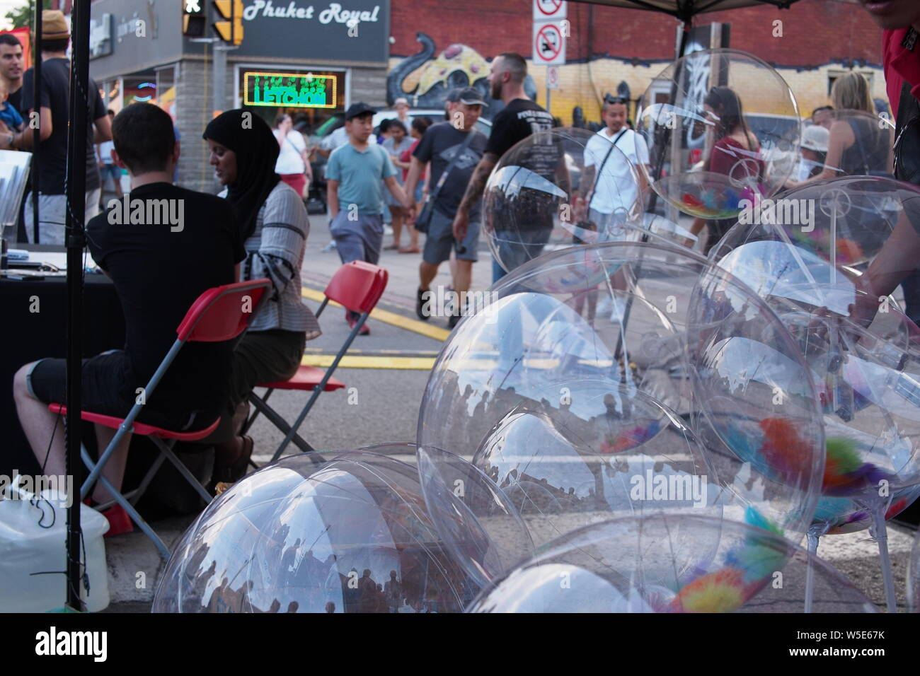 Balloons At Night Stock Photos & Balloons At Night Stock Images - Alamy
