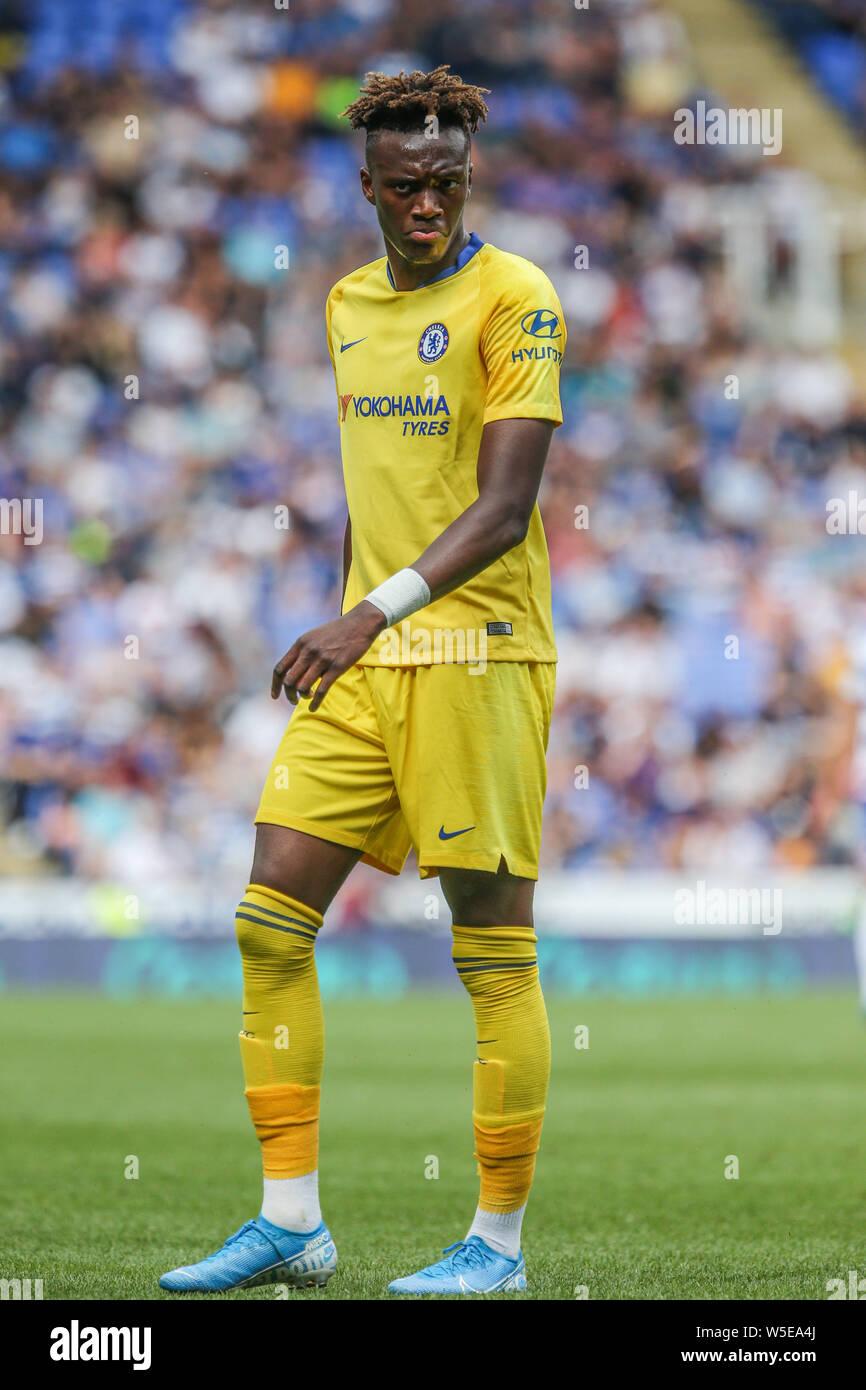 28th July 2019 Madejski Stadium London England Pre Season Friendly Reading Vs Chelsea Tammy Abraham Of