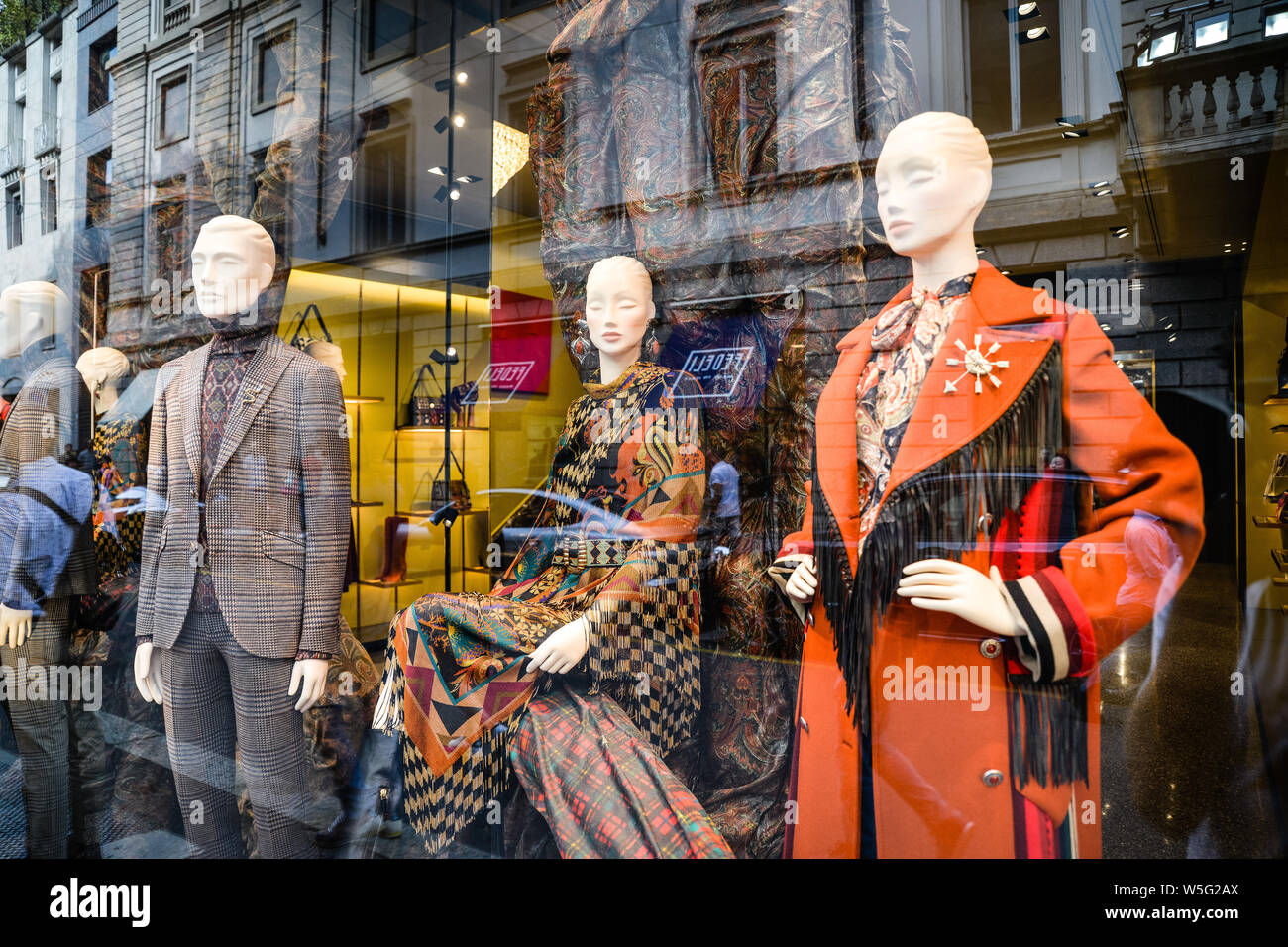 save off a3721 510fa Milan, Italy - September 21, 2018: Etro store in Milan ...