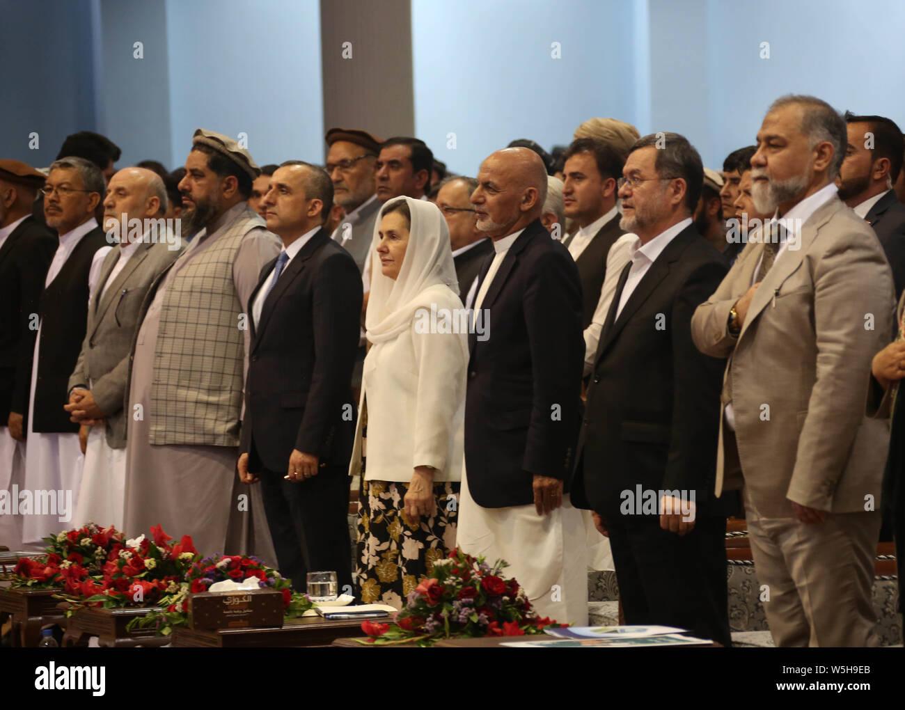 Kabul, Afghanistan  28th July, 2019  Afghan presidential