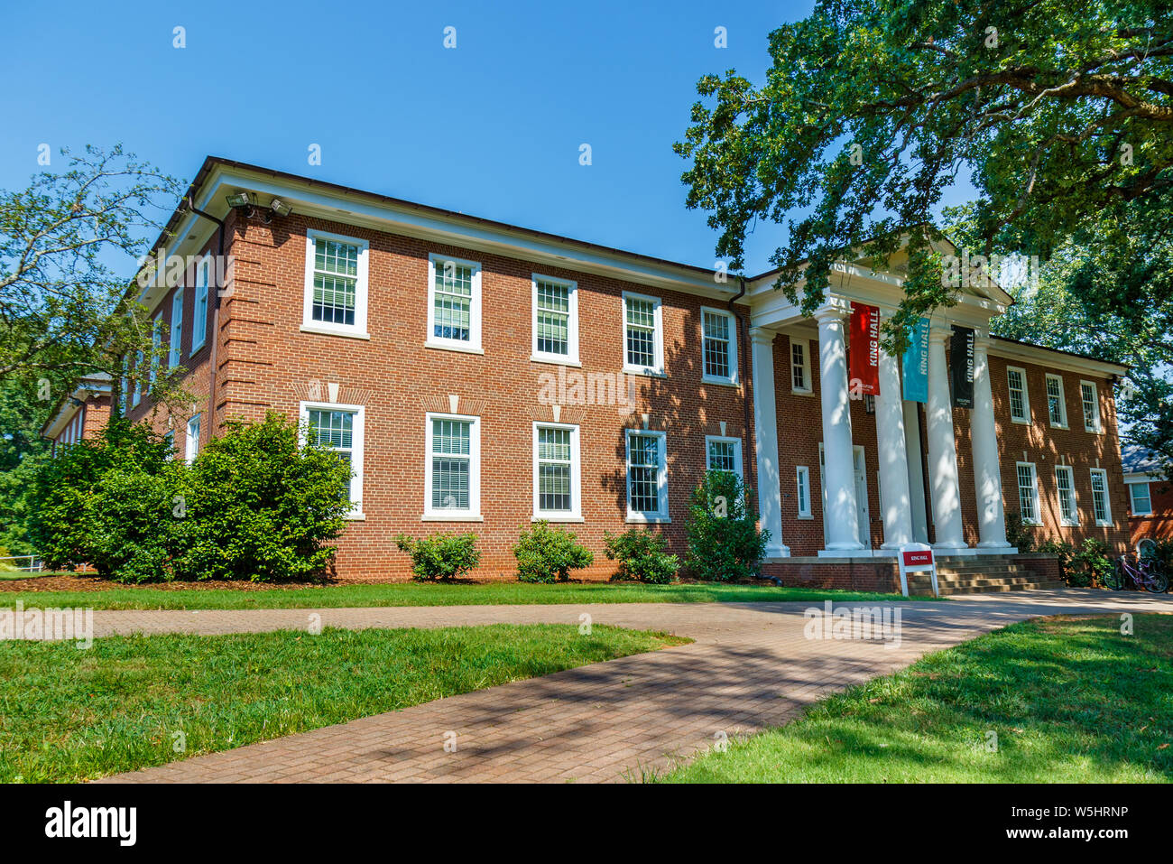 Colleges In Greensboro Nc >> Greensboro Nc Usa July 27 King Hall On July 27 2019 At
