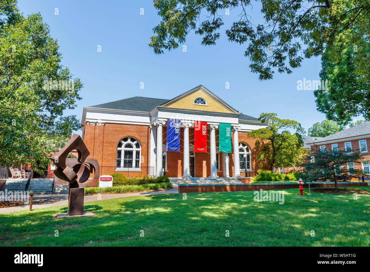 Colleges In Greensboro Nc >> Greensboro Nc Usa July 27 Hege Library On July 27 2019