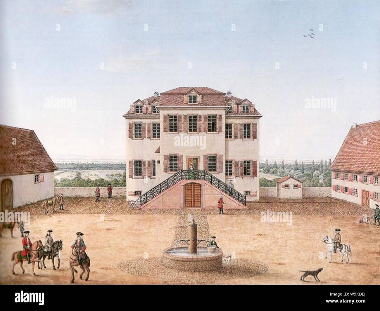 Darmstadt Kavaliershaus. Stock Photo