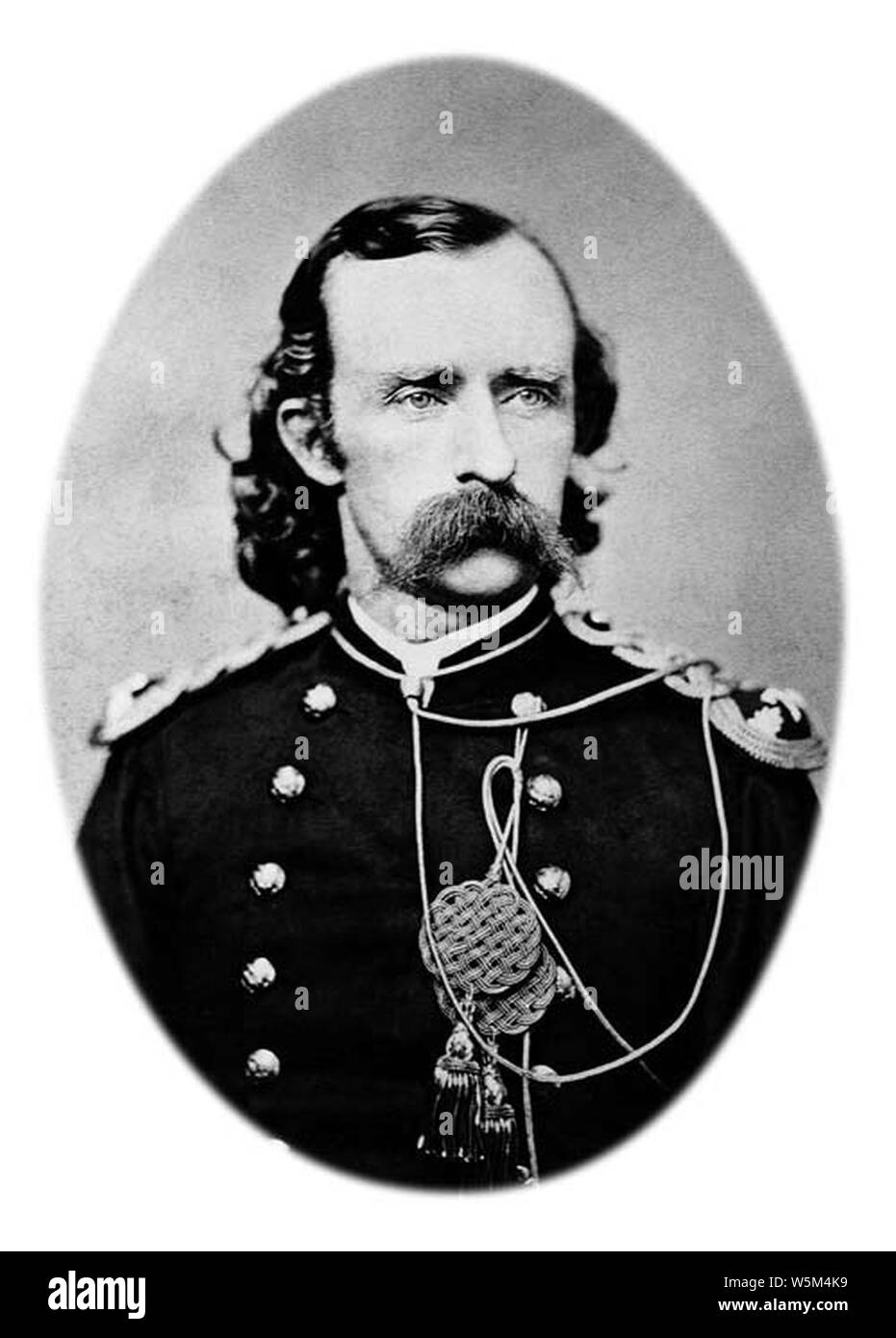 Custer Lt-Col George-A 1873. Stock Photo