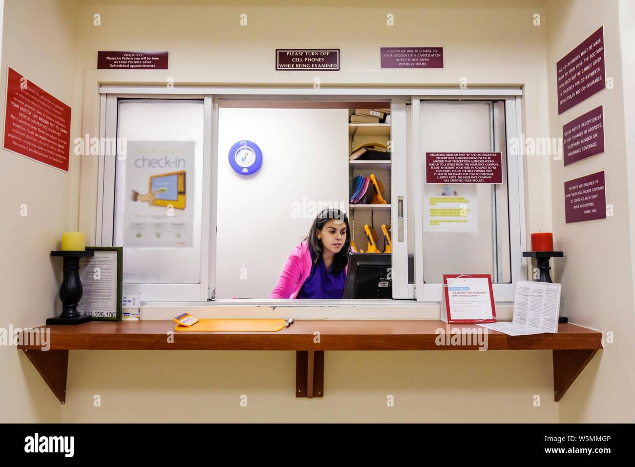 Medical Receptionist Stock Photos & Medical Receptionist